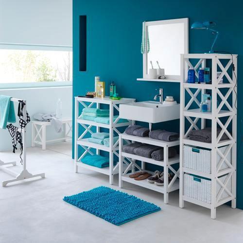 Style marin salle de bain marine - Decor marin pour salle de bain ...