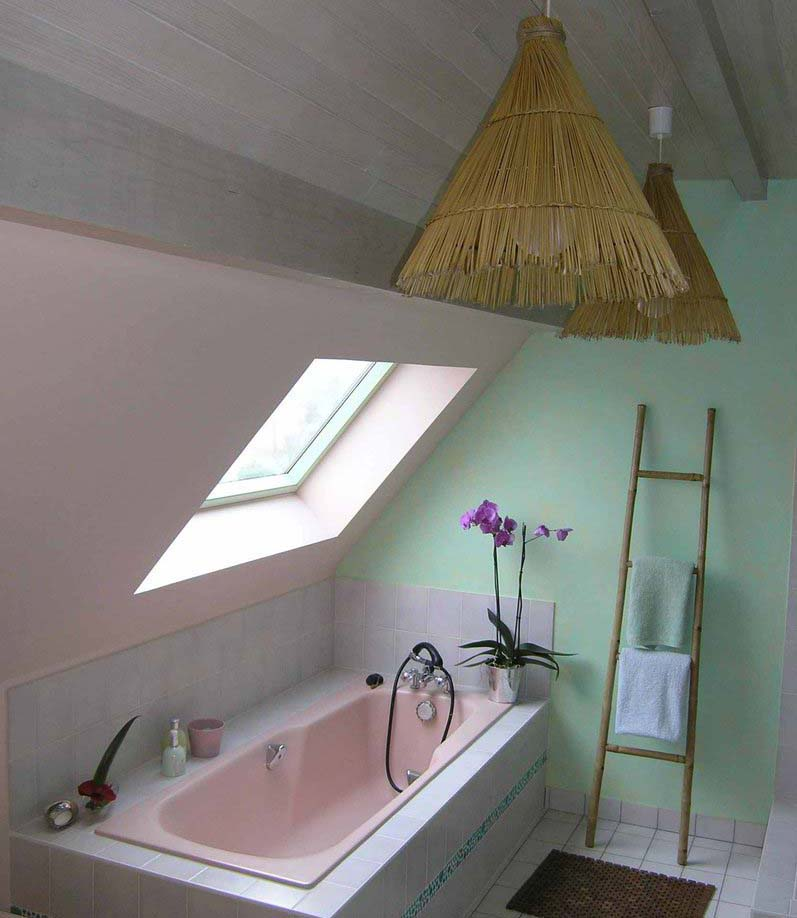Stunning salle de bain nature galet images awesome for Salle de bain nature