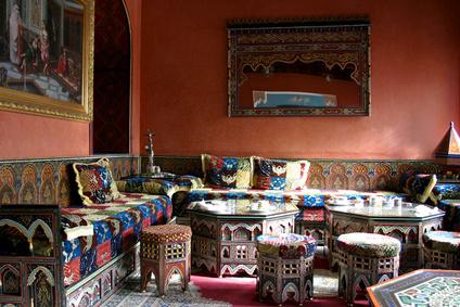 Salon oriental r aliser un salon oriental - Salon oriental au sol ...