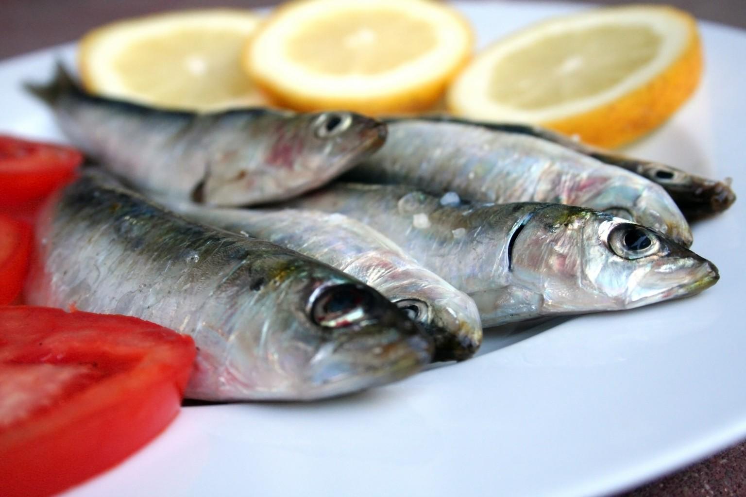 recette des sardines au citron. Black Bedroom Furniture Sets. Home Design Ideas