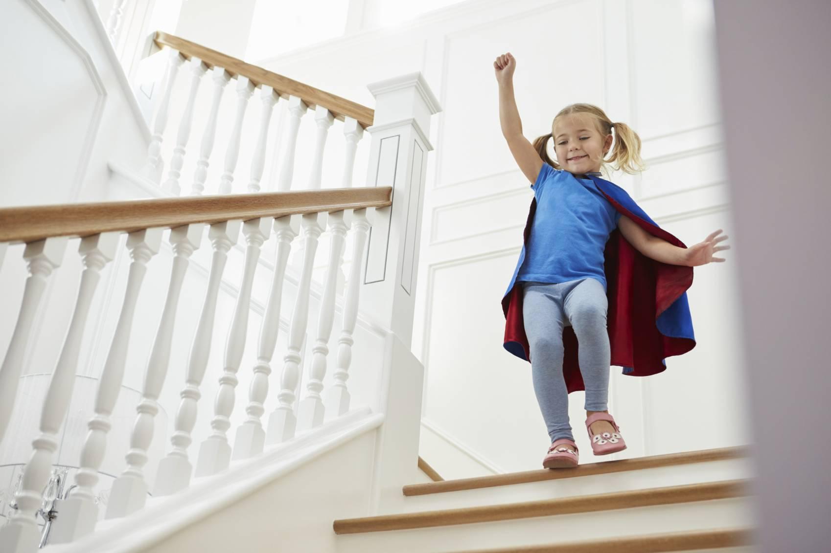 S Curiser L Escalier Pour Les Enfants