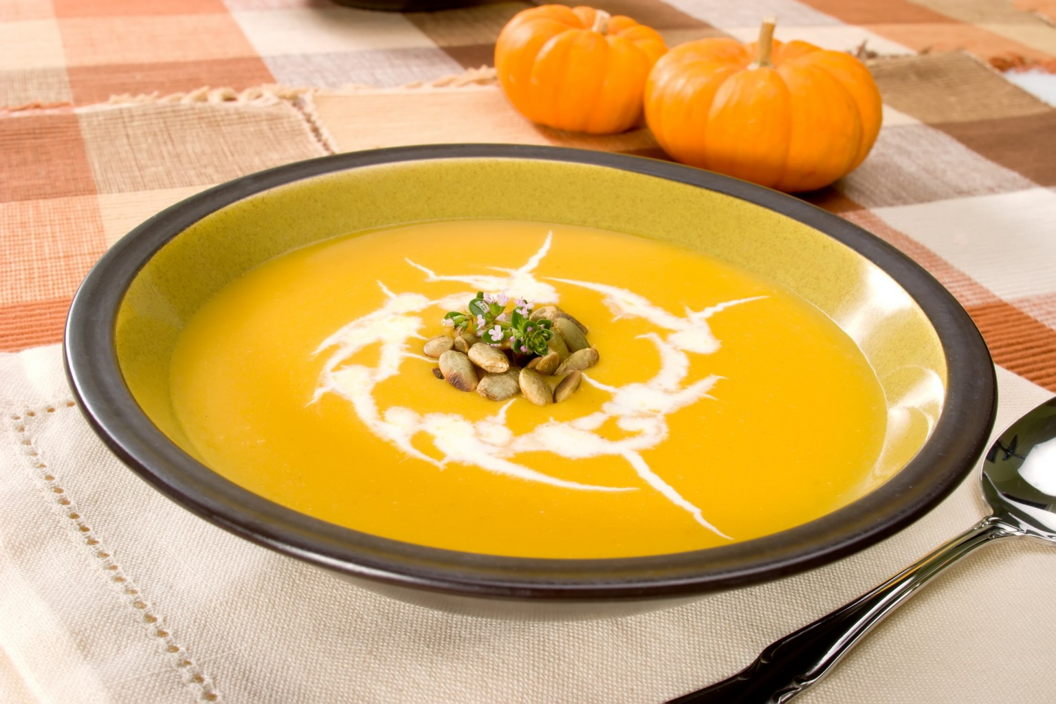 Как сделать тыквенный суп для ребенка