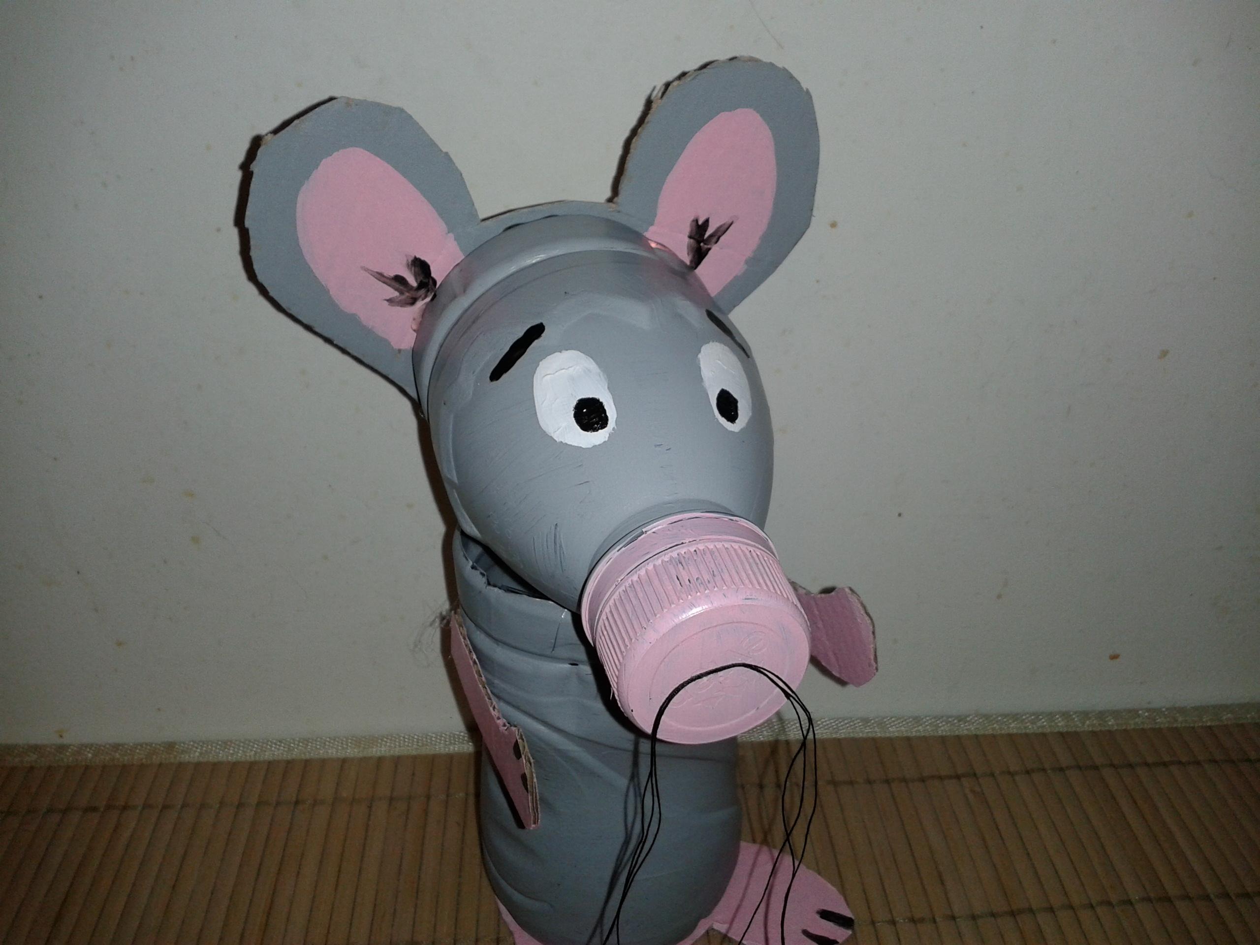 Relativ L'activité enfants du mercredi : la souris en bouteille plastique  TO87