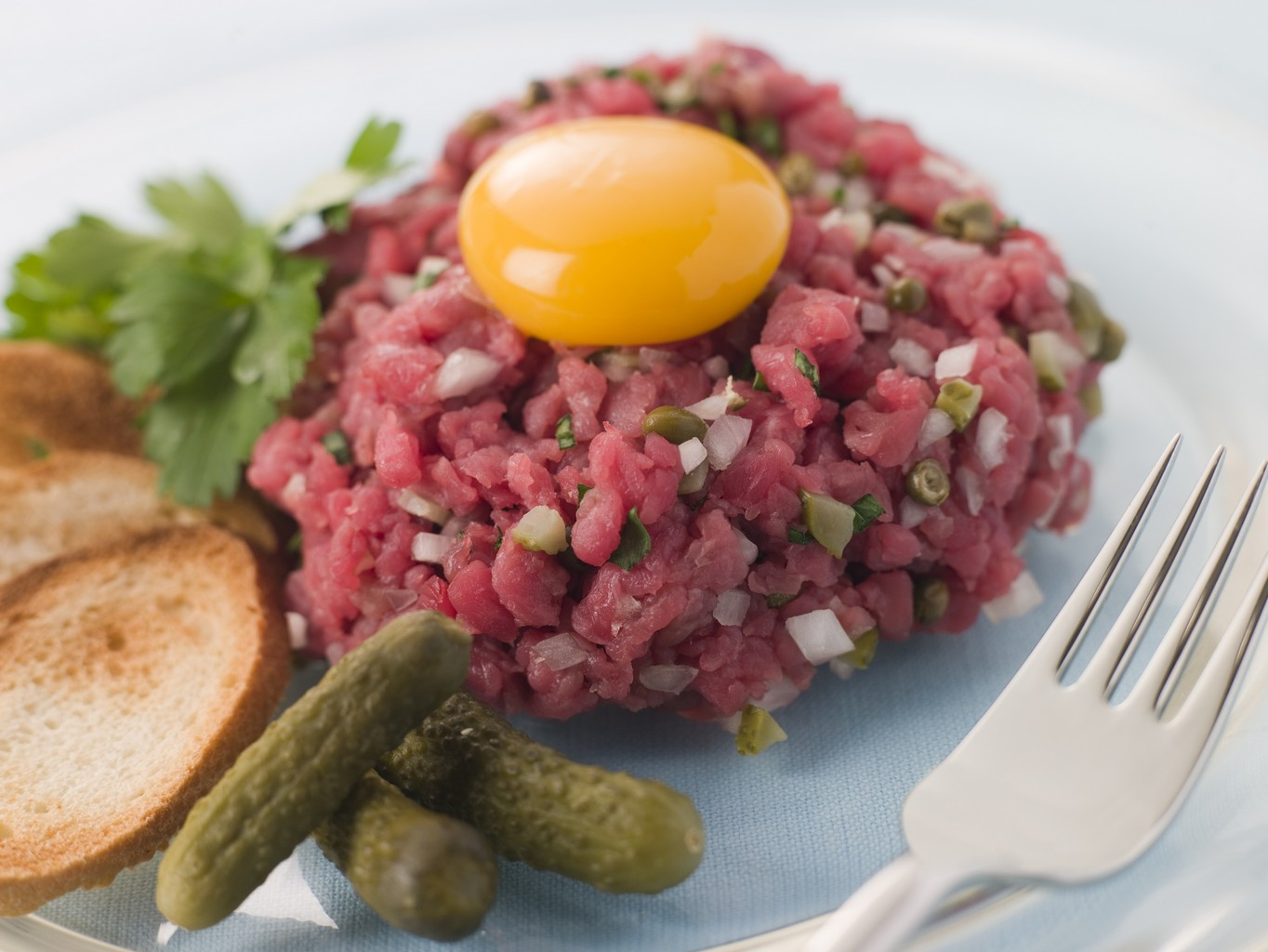 recette du steak tartare. Black Bedroom Furniture Sets. Home Design Ideas