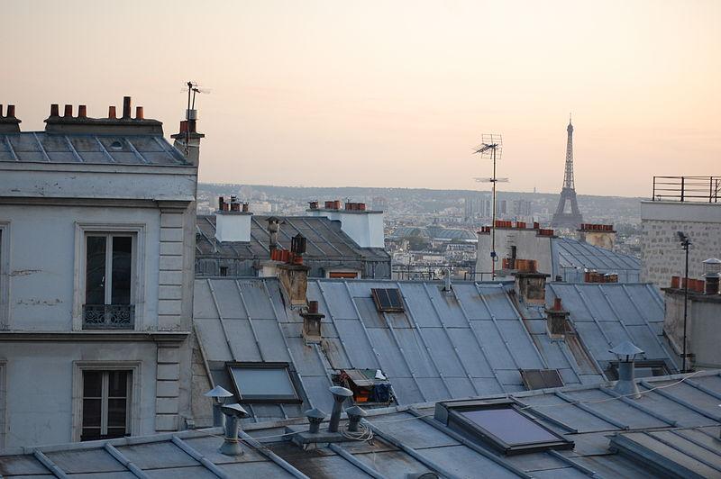 logement les immeubles parisiens pourraient gagner des tages. Black Bedroom Furniture Sets. Home Design Ideas