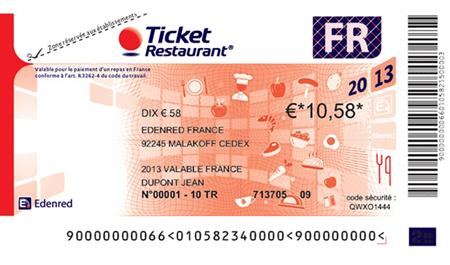 Ticket Restaurant Actu