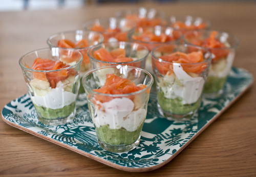 Recette de la verrine au saumon fum - Comment congeler des haricots verts frais du jardin ...